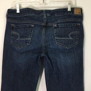 AEO 12 Long Favorite Boyfriend Stretch Jeans